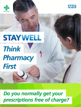 Think Pharmacy First - View Information Leaflet